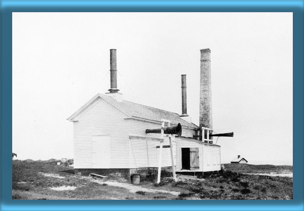 Block Island Southeast Lighthouse's 1873 Fog Signal Building