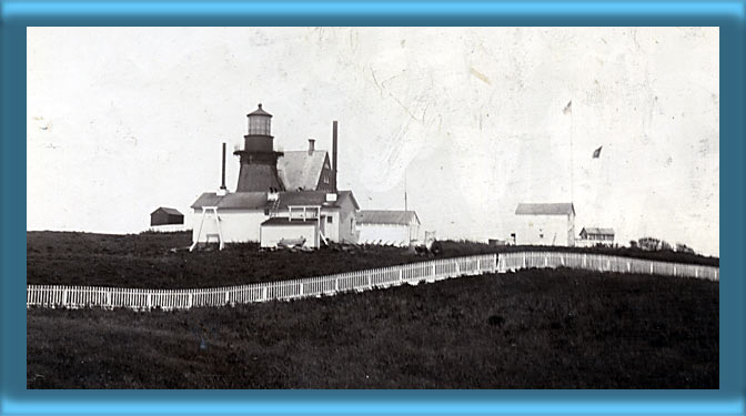 Block Island Southeast Lighthouse and Fog Signal Building 1898
