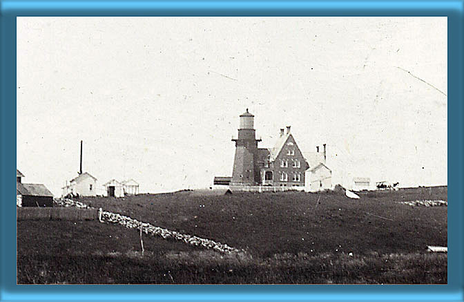 Block Island Southeast Lighthouse and Fog Signal 1898