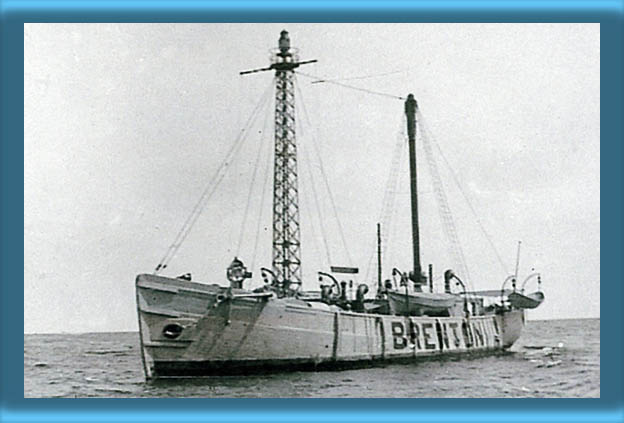 Brenton Reef Lightship LV-39on Station
