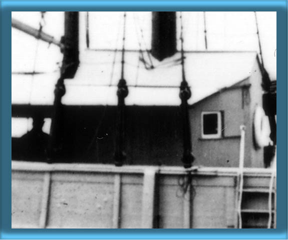 Aft Lantern Storage Shed and Fog Bell on LV-11