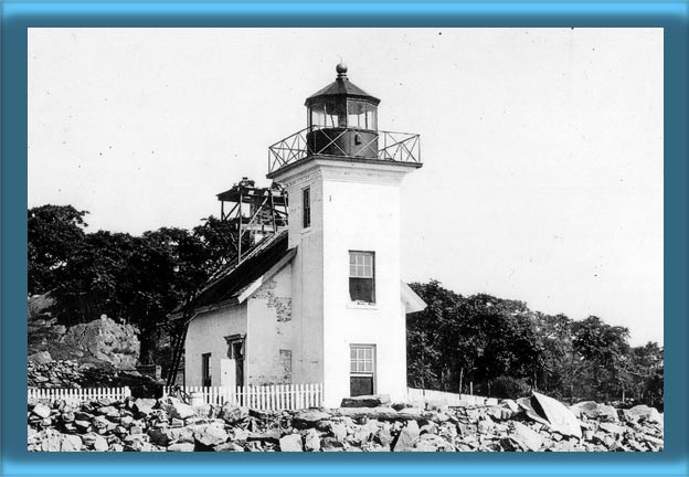 Bristol Ferry Lighthouse - 1917