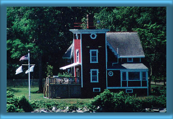 Conanicut Lighthouse and Storage Buildings