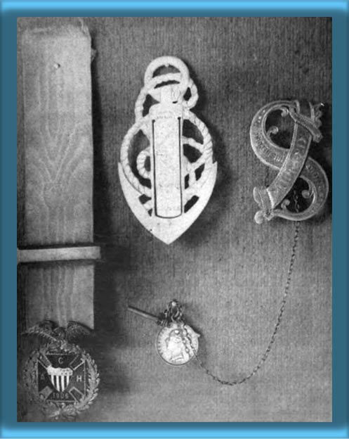 Photo of Decorations Given to Ida Lewis