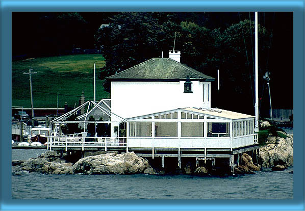 Lime Rock Lighthouse (Ida Lewis Yatch Club)