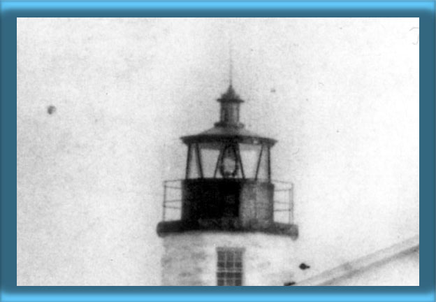 Newport Harbor Lighthouse's Lantern and Fourth Order Fresnel