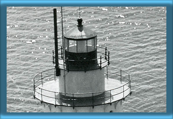 Sakonnet Point Lighthouse's Lantern