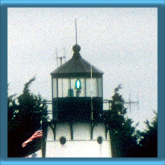Warwick Lighthouse's Lantern and 250 mm Lens