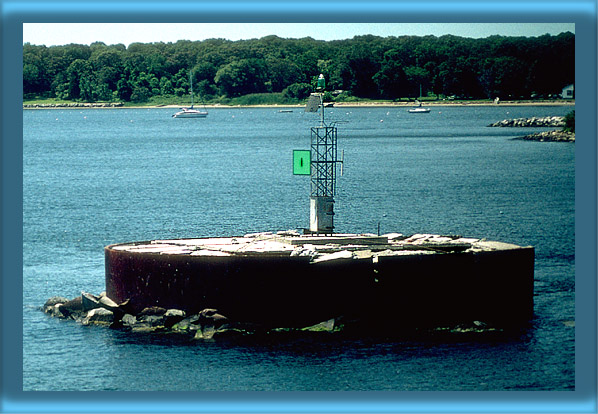 Wickford Harbor Lighthouse's Base