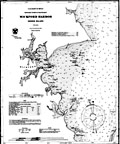 Wickford Harbor Nautical Chart - 1903