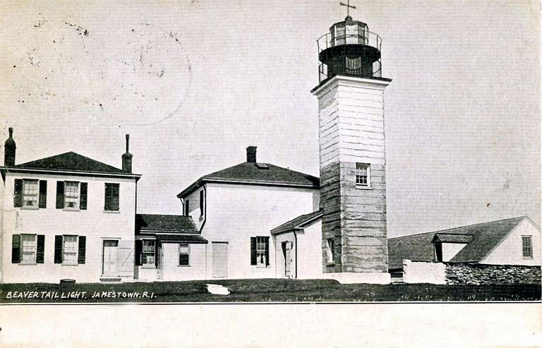 Beavertail Lighthouse Postcard