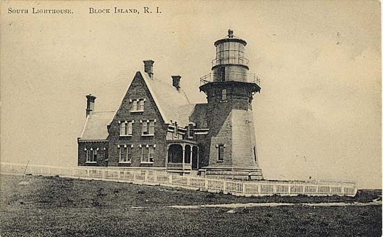 Block Island Southeast Lighthouse Postcard
