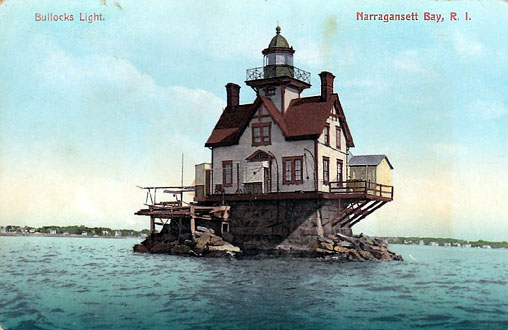 Bullock Point Lighthouse Postcard