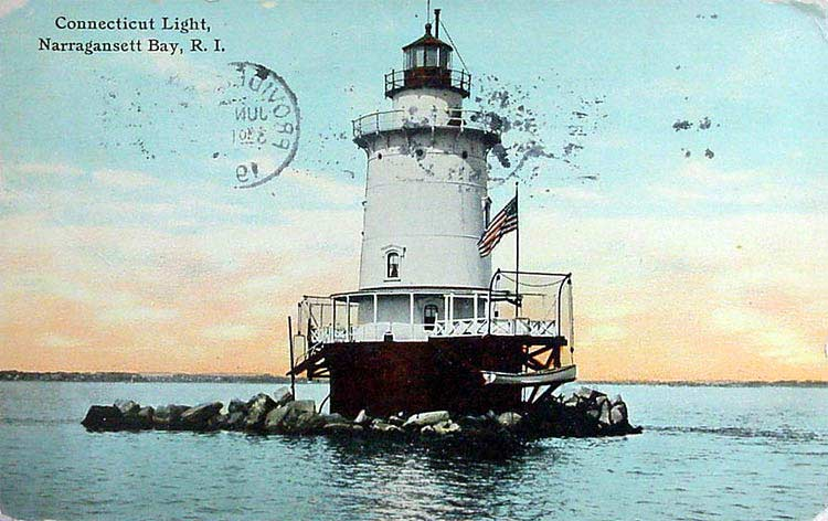 Conimicut Point Lighthouse Postcard
