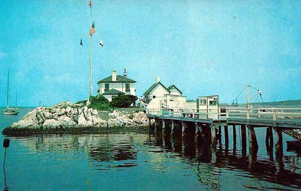Lime Rock Lighthouse Postcard