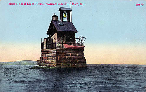 Musselbed Shoals Lighthouse Postcard