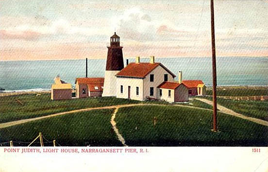 Point Judith Lighthouse Postcard