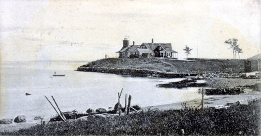 Poplar Point Lighthouse Postcard