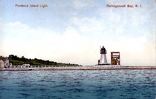 Prudence Island Lighthouse Postcard