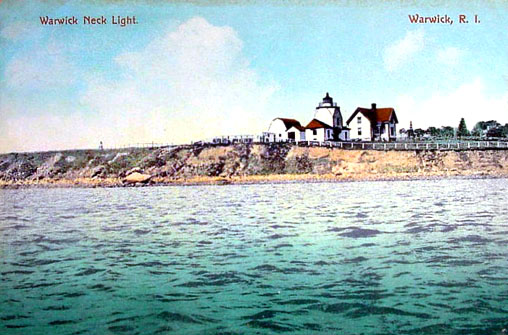 Warwick Lighthouse Postcard